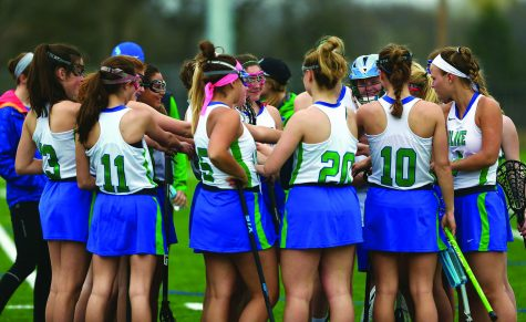 Girls' Lacrosse shooting for championship