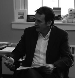 Former Gov. Tim Pawlenty visits Blake