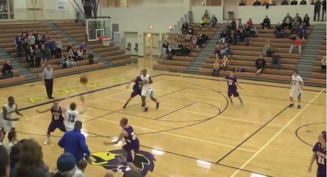 John Veil '14 game winning shot against Chaska