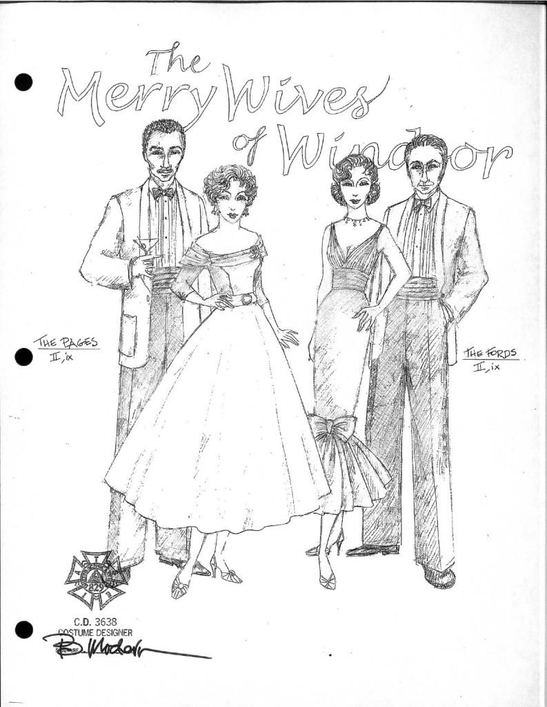 Pictures from Merry Wives of Windsor