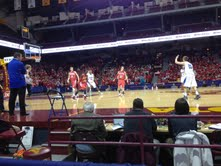John Veil '14 sets up the offense