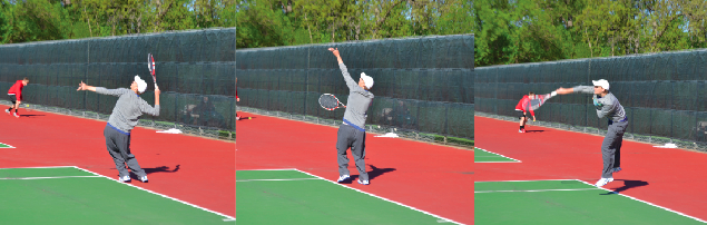 Boys tennis on course to crush Mustangs at state tournament