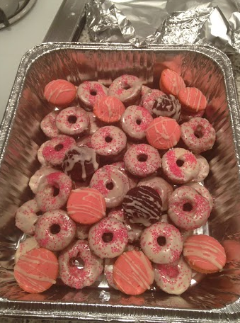 Siona's how to: bake mini donuts