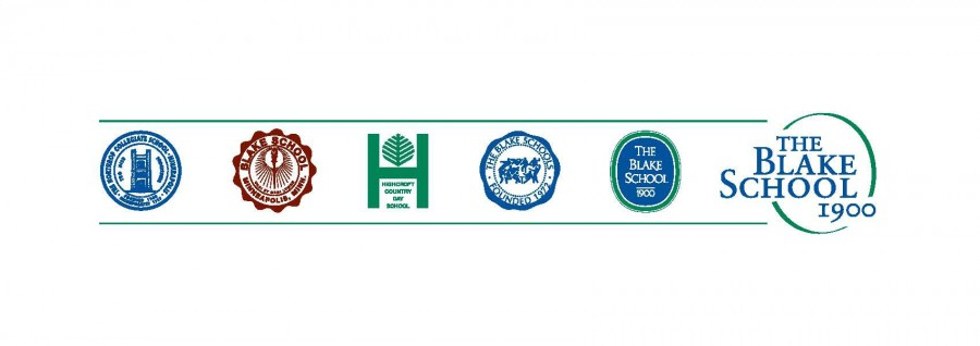 All of Blake's logos throughout the years, including back when Blake was three separate schools.