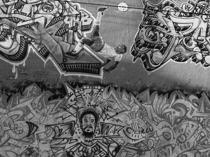 Photojournalism: Uptown murals and graffiti
