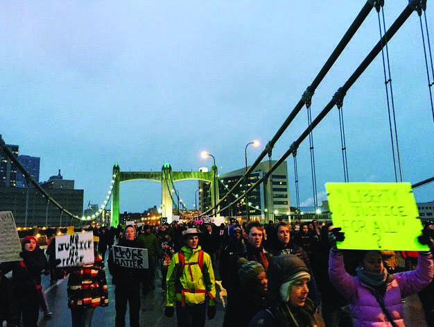 Minneapolis+Protests