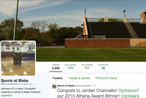 Social media changes the way students experience sports games