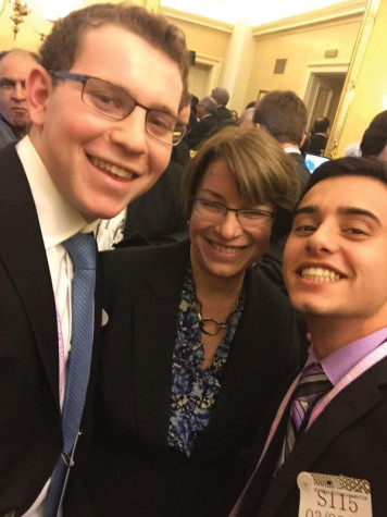Sam Gittleman '16 travels to AIPAC