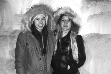 Cedar House students embrace cold winter