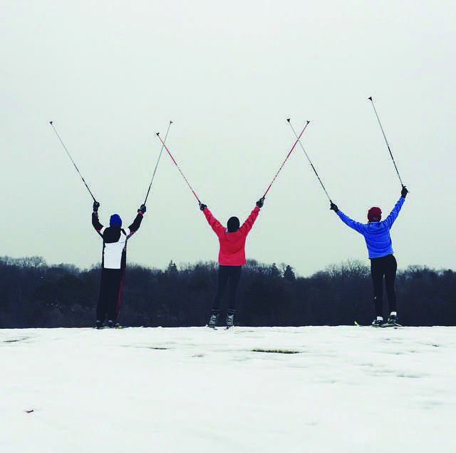 Nordic is flying high this season—photo credit: Mary Amis