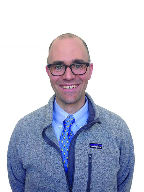 Assistant Head of Upper School Ben Temple