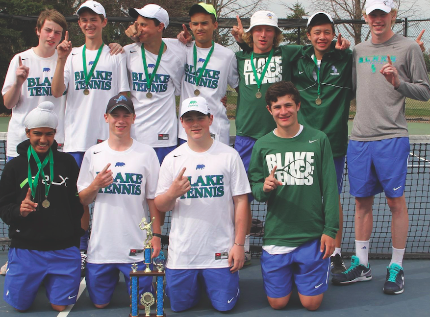 Strong chemistry has helped the tennis team become number one in the State.