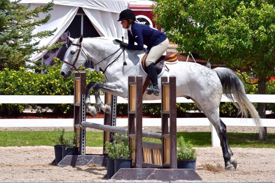 Puckett and her horse, Zandigo