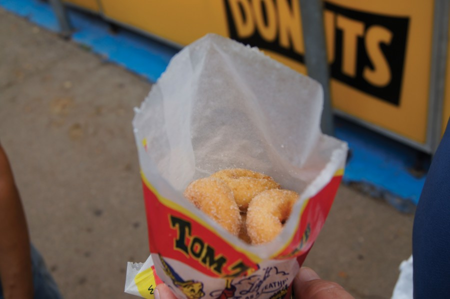 Tom Thumb Donuts, a state fair classic.