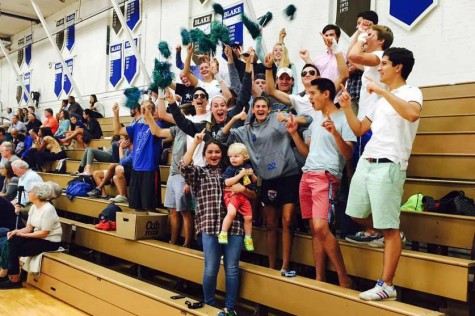 Substantial school spirit manifests positively and negatively