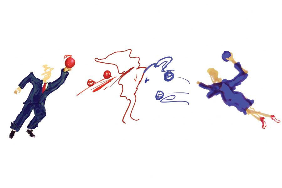 Cynics often criticize one parties rather than strongly supporting another, compounding a two party system. Politics, then, turns into a dodgeball-like game where people are simply attacking the party they dont approve of.