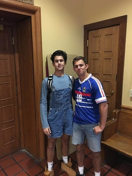 Michael Dejoras '17 and Jimmy Gruver '17 both went on the Cuba trip this past summer.