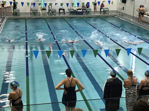 Girls' Swim and Dive makes a splash