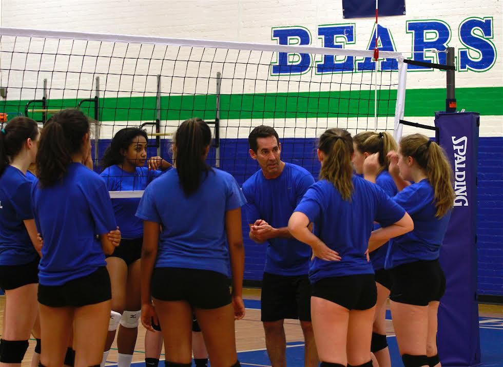 New Coaching Staff Leads Girls' Volleyball Team