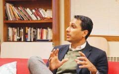 Eboo Patel speaks on interfaith cooperation, acceptance