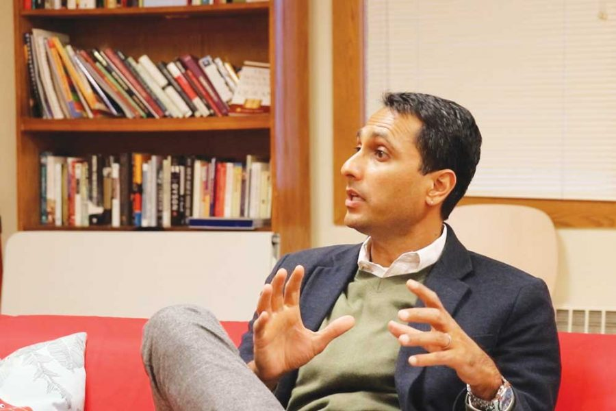 Founder and president of the Chicago-based nonprofit Interfaith Youth Core and previous member of President Barack Obama's inaugural Advisory Council on Faith-Based Neighborhood Partnerships, Patel meets with Spectrum for a more in depth interview.