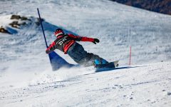 Taylor competes in Junior Snowboarding World Championships