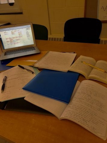 Students Stress Importance of Studying Early, Getting Rest In Preparation For Finals
