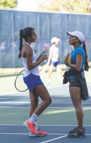 New Girls' Tennis Coach Brings New Energy to Successful Team