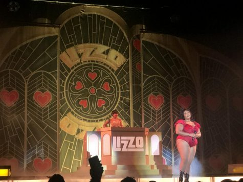 Lizzo shared moments with the audience where she spread words of positivity