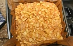 Apple Pie Blondies