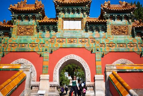 Zoe Feldshon '21 visits the Chengde for a weekend trip. Chengde is situated in the Hebei Province, northeast of Beijing.