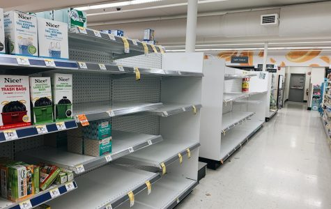 Apprehensive Residents Strip Grocery Stores, Pharmacies Dry