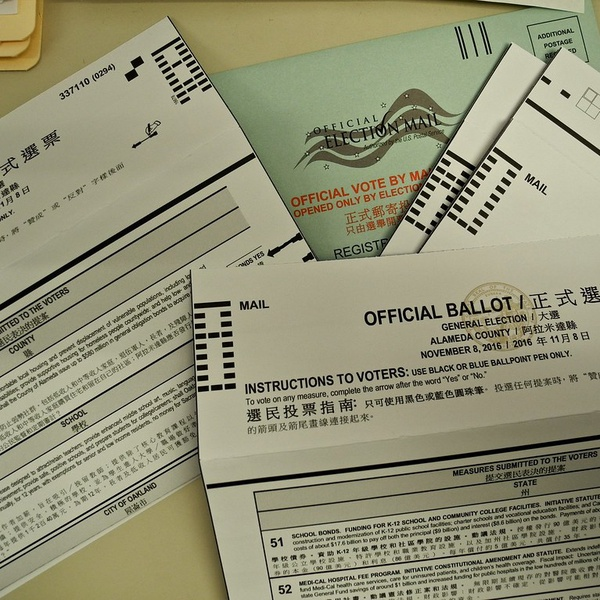 Mail-in voting was originally introduced in 1993 to increase voter turnout.