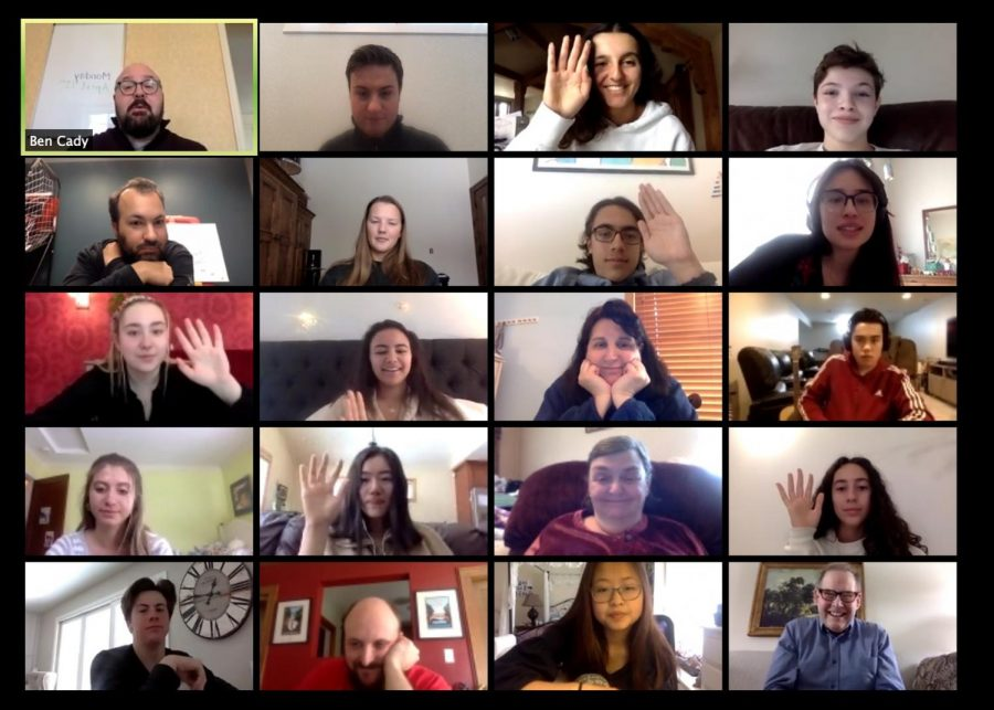 Forum meets via Zoom to continue their roles for the rest of the 2019-2020 school year