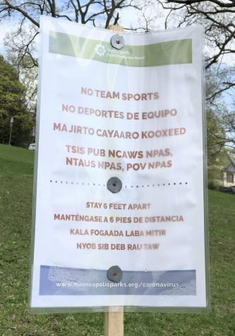 City of Minneapolis Closes Parks, Removes Nets