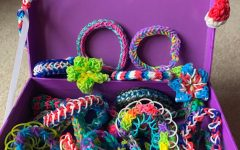 You can make so many different bracelets with a Rainbow Loom. There are many YouTube tutorials if you don't know where to start.