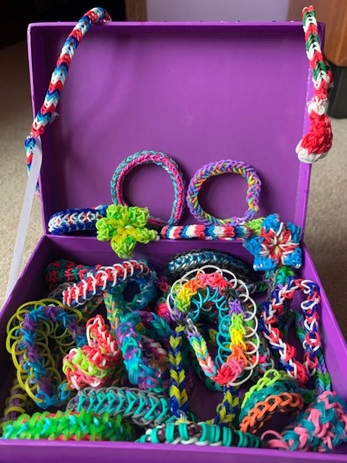 You+can+make+so+many+different+bracelets+with+a+Rainbow+Loom.+There+are+many+YouTube+tutorials+if+you+don%27t+know+where+to+start.