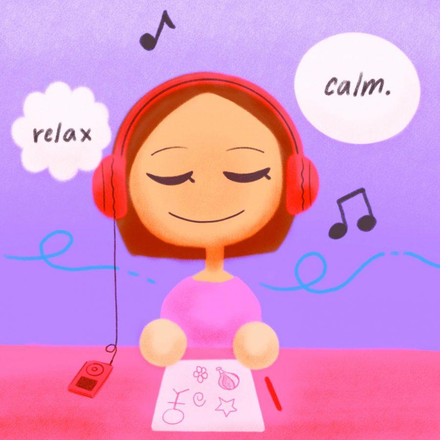 Art, Music Aids Stress Relief