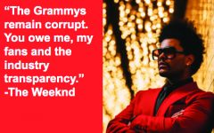 "Once the nominations for the 2020 Grammys were announced, The Weeknd tweeted, ""The Grammys remain corrupt. You owe me, my fans and the industry transparency."""