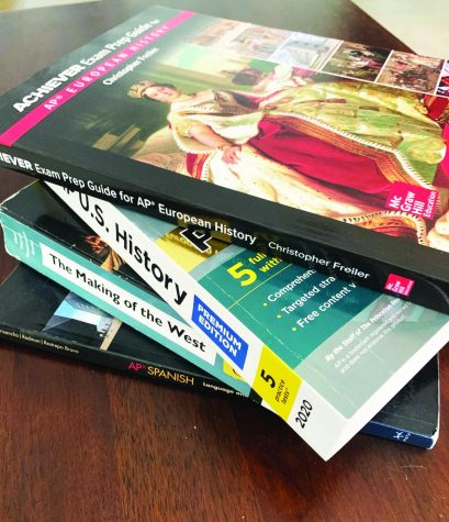 Studying for AP exams is altered during hybrid school