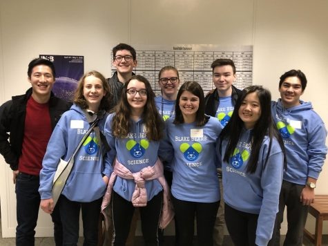 Due to COVID-19, the 2020 National Science Bowl was virtual. Both Blake teams did well and placed 19th & 34th overall.