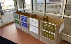 In lieu of Legacy Day, bins have been placed at the West and East door to collect supplies.