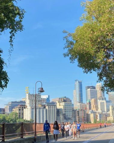 Over Sept. 11-13, all four grades went on retreats.  Freshmen did team-building activities at school, sophmores walked downtown Minneapolis, juniors went to the Como Zoo, and seniors drove out to YMCA Camp St.Croix.