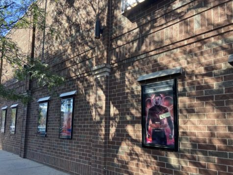 Shang-Chi plays in theaters, pictured here at Landmark's Lagoon Cinema in Minneapolis.