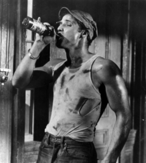 A clip from a scene in A Streetcar Named Desire (1951). All rights reserved to Warner Brothers Studios.